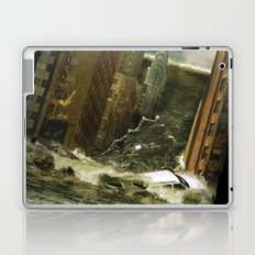 Water vs City Laptop & iPad Skin