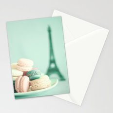 Soft and Pale Paris Stationery Cards
