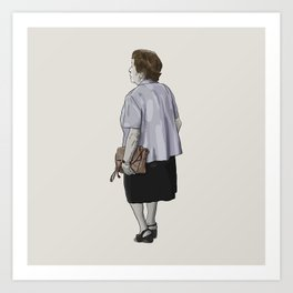 Abuela Art Print