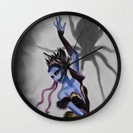 Spider Dancer Wall Clock
