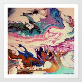 earth intruders Art Print