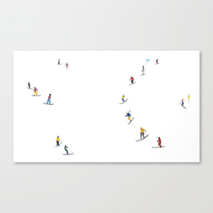 Ski Leinwanddruck