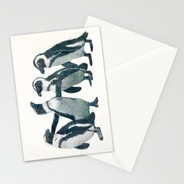 penguin party Stationery Cards