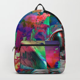 Tripping Space Man Backpack