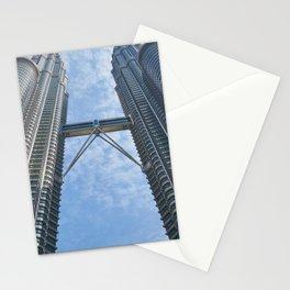 Petronas Twin Towers in Kuala Lumpur Malaysia Ultra HD Stationery Cards