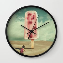 Memories of the Little Things Wall Clock