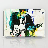 chuck iPad Cases featuring chuck berry by manish mansinh