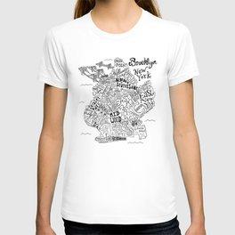 Brooklyn Map T-shirt