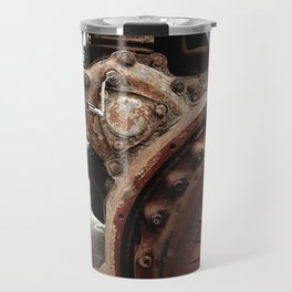 An engine that survives Travel Mug