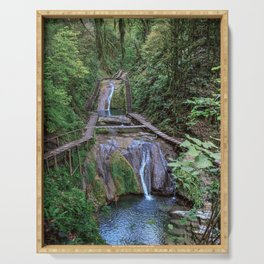 Valley of 33 waterfalls Serving Tray