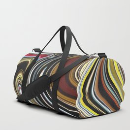 Melted Oriental Duffle Bag
