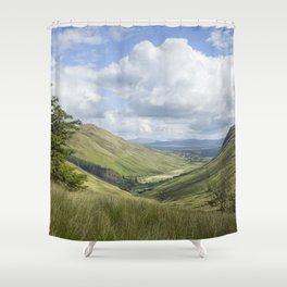 Glengesh Pass Shower Curtain