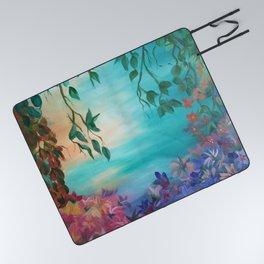 enchanted painting Picnic Blanket
