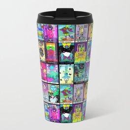 Tarot Major Arcana Metal Travel Mug