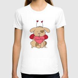 Valentine Puppy Love Bug T-shirt
