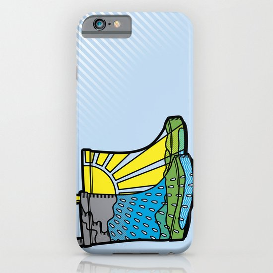 Rainy Day Boots iPhone & iPod Case
