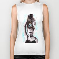 rapunzel Biker Tanks featuring Rapunzel  by Bella Harris