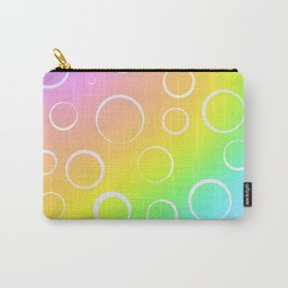 Colorful Rainbow Gradient Design! Carry-All Pouch