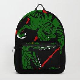 Raptor Dinosaur Gift Idea Design Motif Backpack
