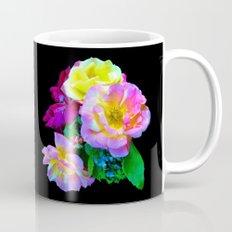 Rosa Yellow Roses on Black Mug