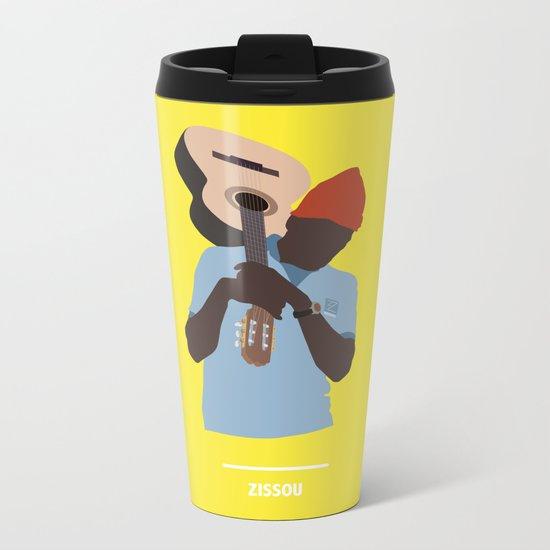 ZISSOU ( The Life Aquatic ) Metal Travel Mug