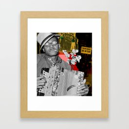 the new negro has no fear Framed Art Print