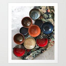 Ceramics 4 Art Print