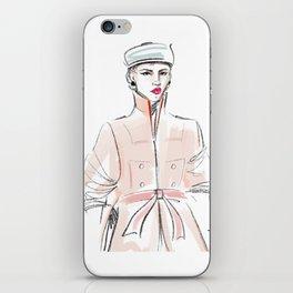 Rosie / Peach Trench iPhone Skin