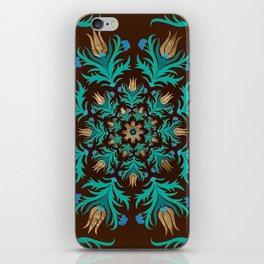 Turkish tulip - Ottoman tile 17 iPhone Skin