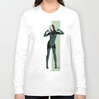 rogue Long Sleeve T-shirts featuring Rogue by Andrew Formosa