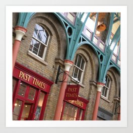 London Covent Garden Art Print