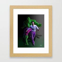 Bruce's Alter Ego Framed Art Print
