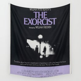 The Exorcist Movie Poster - Classic 70's Vintage Wall Film Art Print Photo Wall Tapestry