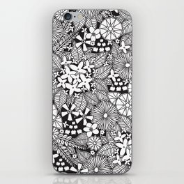 Wild Wallflowers iPhone Skin