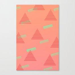 Traingle Pattern Canvas Print