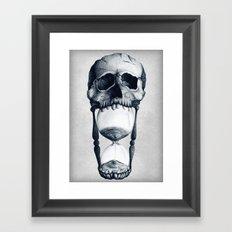 Demise of Time Framed Art Print