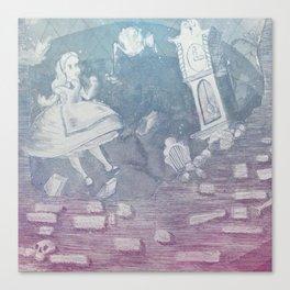 Tumbling Alice Canvas Print