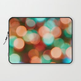 Abstract holiday background Laptop Sleeve