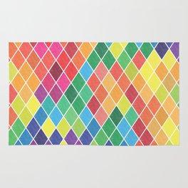 Watercolor Geometric Pattern II Rug