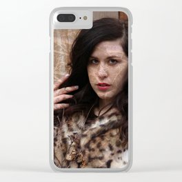 Lisa Marie Basile, No. 89 Clear iPhone Case