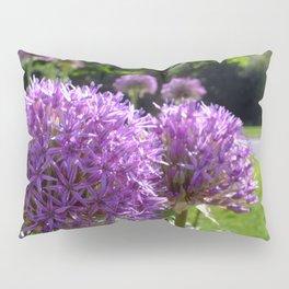 Purple Allium Giganteum Pillow Sham