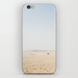 Tiny camel in Egypt iPhone Skin