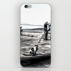Fishermen And Cats Istanbul iPhone & iPod Skin
