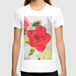 The Rose drawing T-shirt