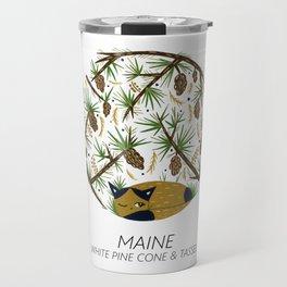 American Cats - Maine Travel Mug