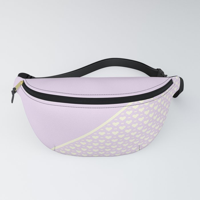 Heartless 2 - Lavender + White/ Yellow Fanny Pack