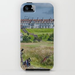 Turnberry Hotel and Golf Course iPhone Case