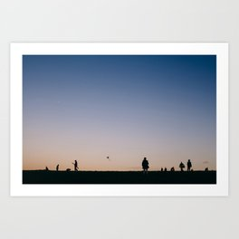 Hampstead Heath Art Print
