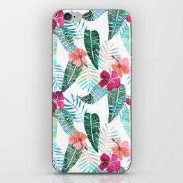 Island Goddess Tropical White iPhone Skin