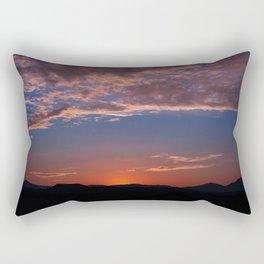 SW Summer Mt Sunrise - I Rectangular Pillow